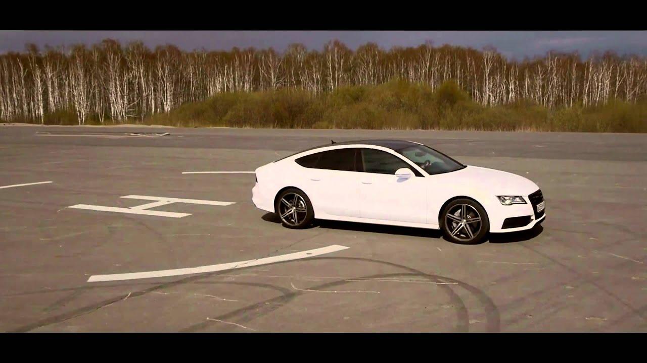 Audi A7 On Vossen Wheels Vvs Cv5 Youtube
