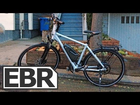 Kalkhoff Pro Connect X27 Video Review - Touring Electric Bike with XION Hub Motor and City Kit