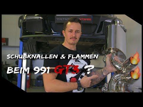 Lautester Porsche 991 GT3 ? Stage 2 Tuning + Flammen + Soundcheck & 100-200KMH Simon Motorsport #643