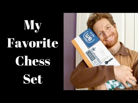 WE Games Tournament Chess Set Review (vinyl board)