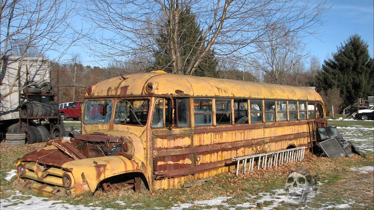 abandoned vehicles in america old cars rusty tractors abandoned bus youtube. Black Bedroom Furniture Sets. Home Design Ideas