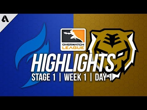 Dallas Fuel vs Seoul Dynasty | Overwatch League Highlights O