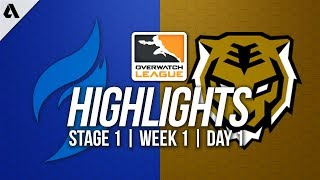 Dallas Fuel vs Seoul Dynasty | Overwatch League Highlights OWL Stage 1 Week 1 Day 1