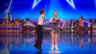 Britain's Got Talent Lexie & Christopher 10 Year Old Dancers Full Audition S12E03