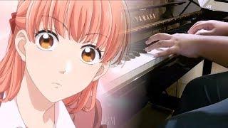 """Gambar cover [Wotaku ni Koi wa Muzukashii OP] """"Fiction"""" - Sumika (Piano)"""