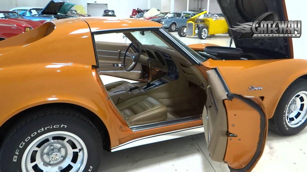 1973 Chevrolet Corvette Youtube