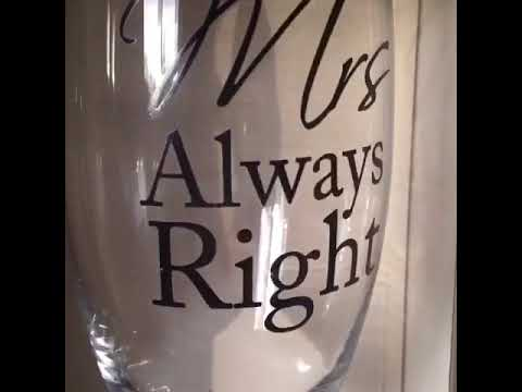 Mr & Mrs Right Champagne Flutes