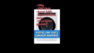 VESTEL CMI 10812 ÇAMAŞIR MAKİNASI TANITIMI