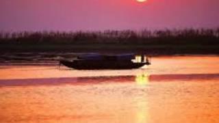 《鄱湖渔歌》夏敬书笛子独奏、江西省歌舞团民乐队伴奏