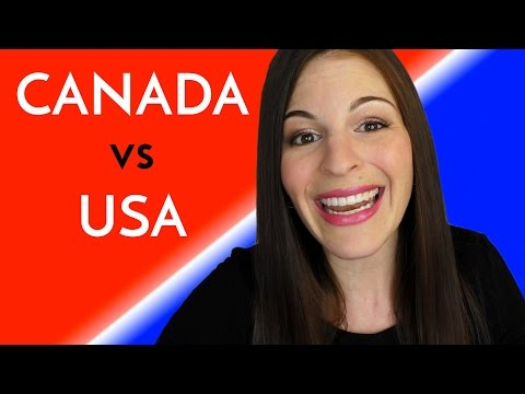 CANADA vs. USA (by an American who's never visited Canada!)
