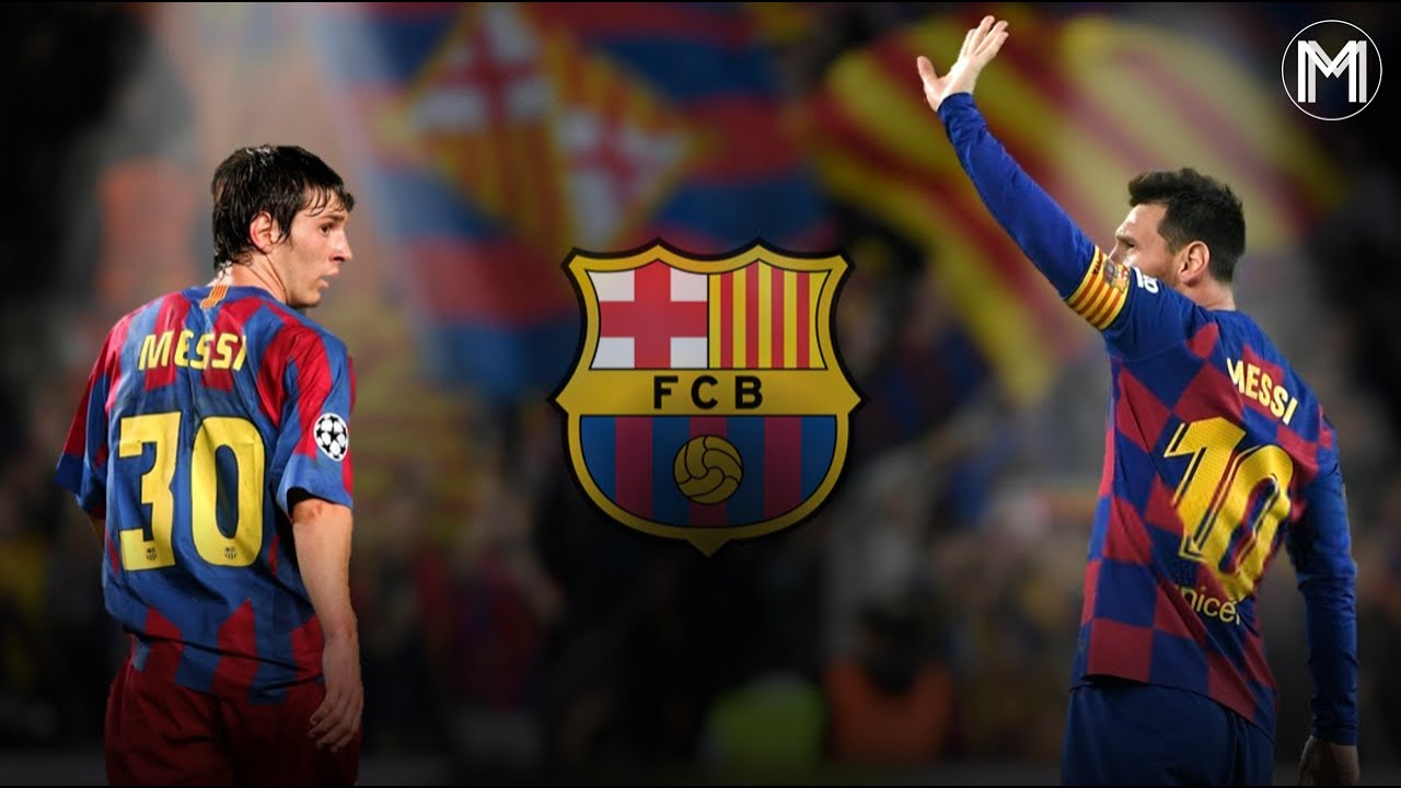 Lionel Messi Fc Barcelona Official Tribute Youtube