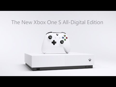 Xbox One S All-Digital Edition - Reveal Trailer