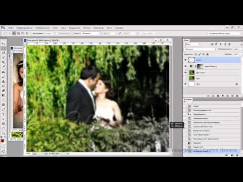Оформляем свадебные фотографии в фотошопе
