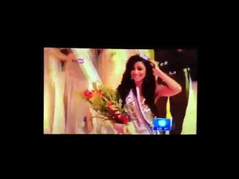 Nastassja Bolívar - Miss Nicaragua 2013 en Univisión