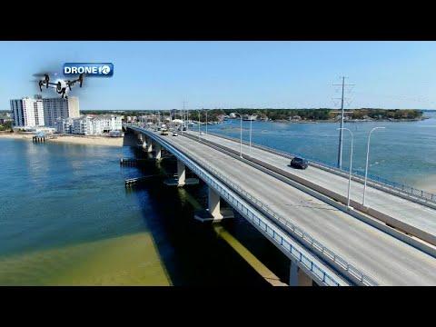 Drone 10: Lesner Bridge and Chicks Beach