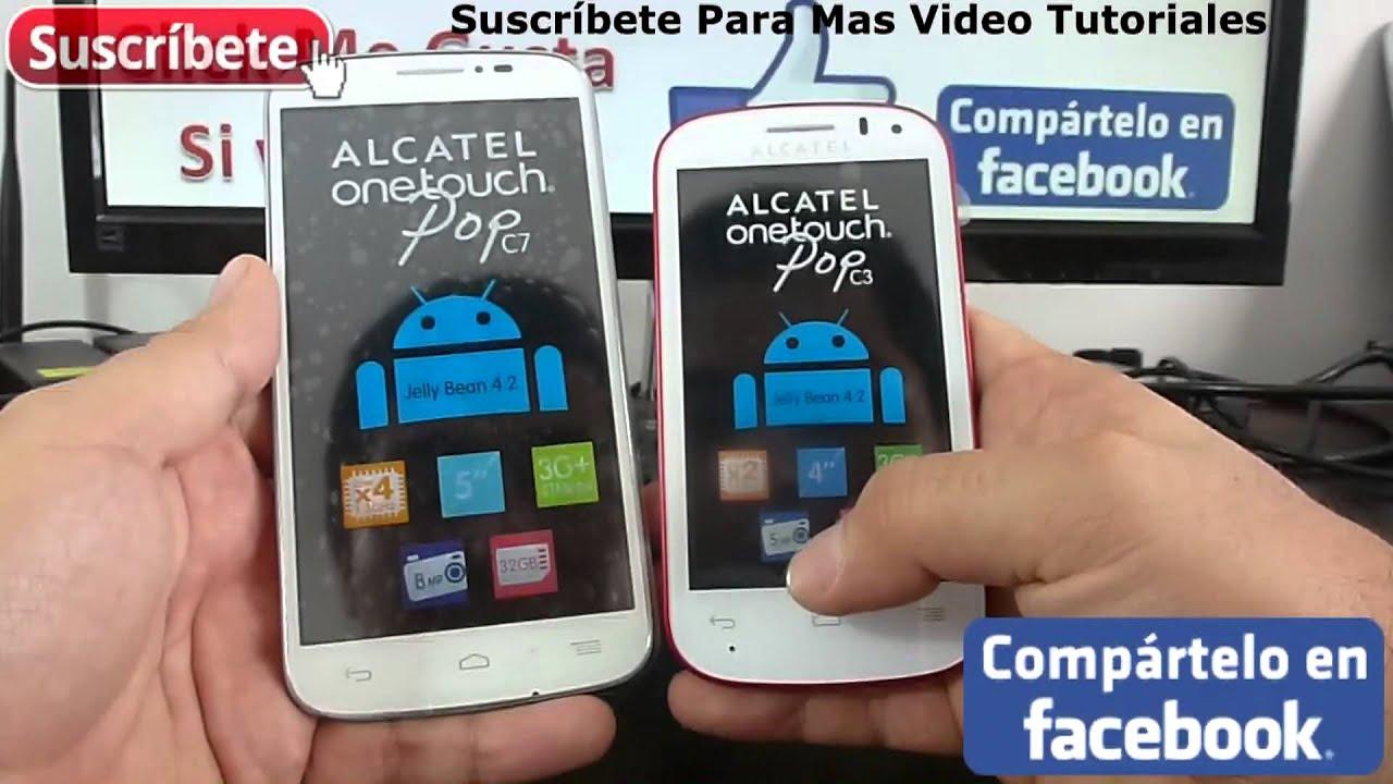 Como actualizar alcatel one touch pop c3