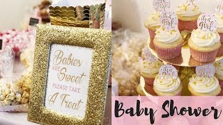 IT'S A GIRL! BEST BABY SHOWER EVER | AMAZING PINTEREST DIY DECOR & GAMES