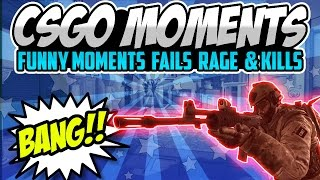 CS:GO Funny Moments & Highlights! - Two GUYS ONE BED!