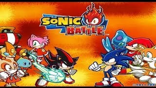 TAP (GBA) Sonic Battle - Story Mode (No Damage)