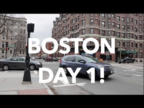 Travel Vlog #1- Boston, USA.