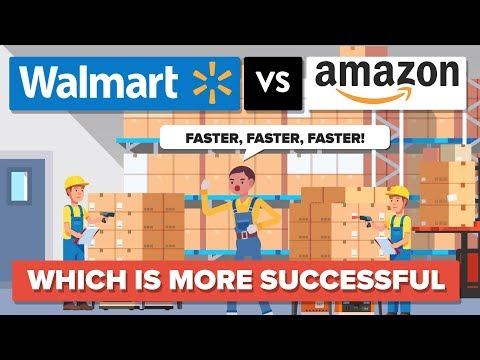 Walmart vs Amazon  Which Is More Successful  Company Comparison