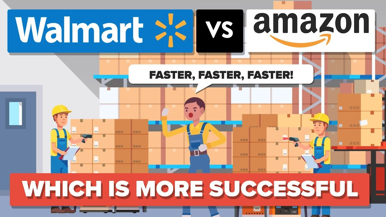 walmart vs amazon We saw a market sell-off in the dow yesterday, due in part to an earnings miss for walmart's wmt q4 2018 shares of the world's biggest.