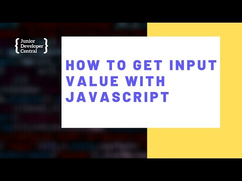 How To Get an Input Value With JavaScript thumbnail