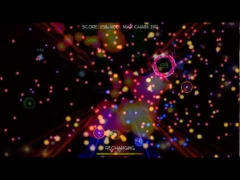 R-Chain – Music Generated Bullet Hell/ Chain Reaction Game