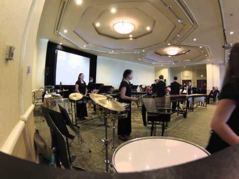 Pentucket Regional High School Percussion Ensemble 2015 MMEA All-State Concert Hour