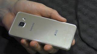 нЕПОНЯТНЫЙ РЕМОНТ. Смартфон Samsung Galaxy A3 (2016) SM-A310F