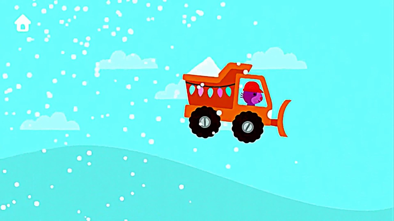 Sago Mini Holiday Trucks and Diggers | Learning Build with ...