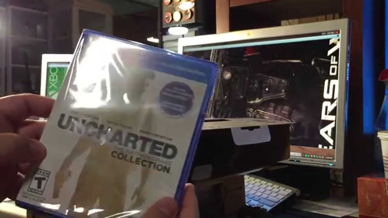 Ps4 Unboxing Uncharted Bundle Digital Vs Physical Blu Ray Copy Fall 2015