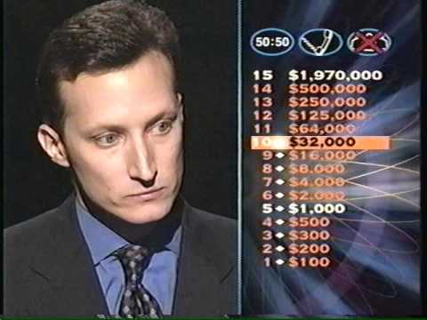 David Becker - Who Wants To Be A Millionaire -- Feb. 2001