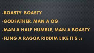 Wiley, Sean Paul, Stefflon Don Boasty ft Idris Elba~ Lyric  | Team Products Online