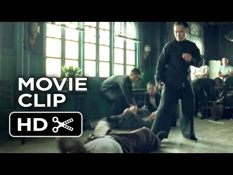 The Grandmaster Movie CLIP - Table Fight (2013) - Ziyi Zhang Movie HD