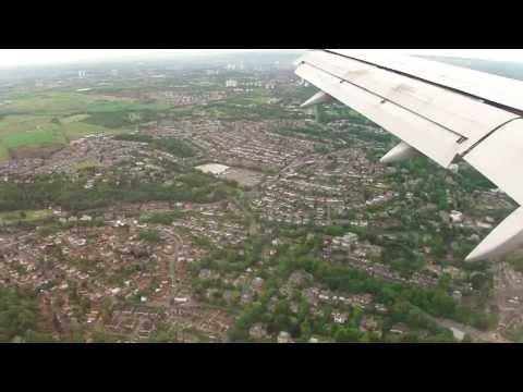 Landing at Glasgow Airport