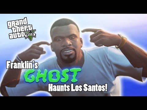 Franklin's Ghost Haunts Los Santos! (GTA V Rockstar Editor)