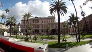 Bus Tour of Rome, Italy Full HD