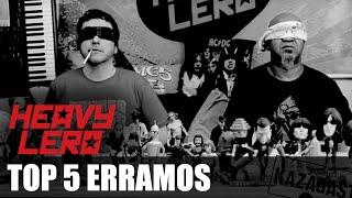 """Heavy Lero Especial - Top 5 """"ERRAMOS"""" - apresentado por Gastão Moreira e Clemente Nascimento"""