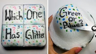Guess The Color Slime Challenge l Most Satisfying Slime ASMR Compilation 2019