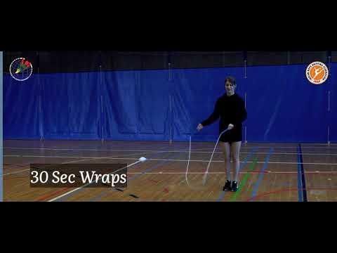 30 SEC. WRAPS   India Inter-school Rope Skipping Championship 2021.