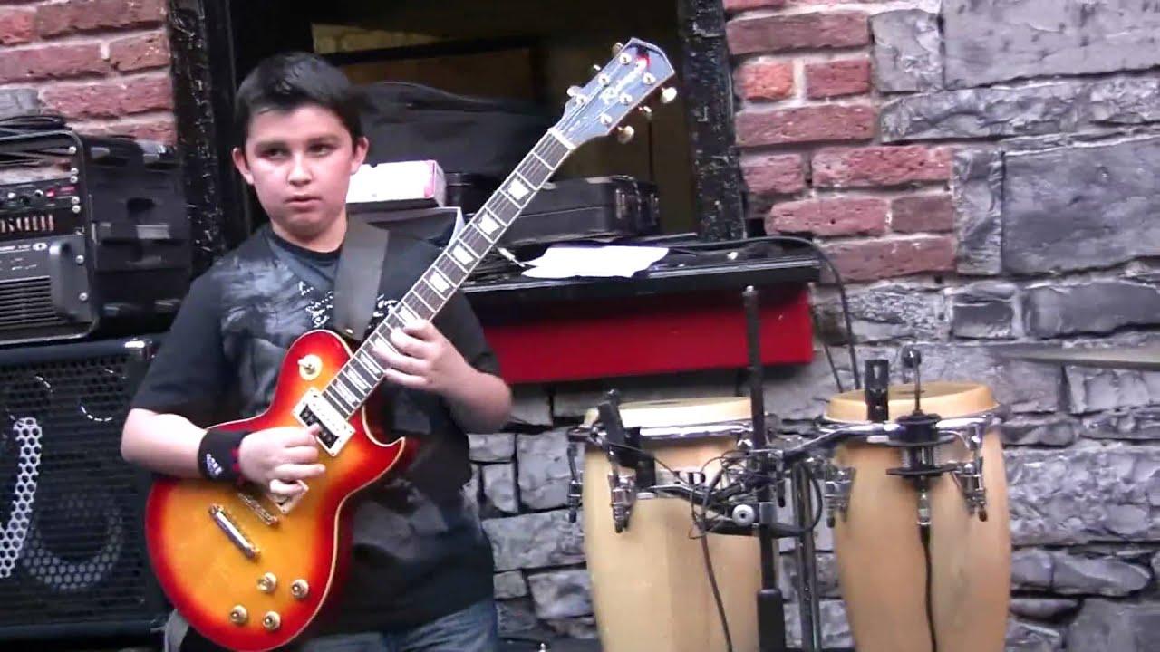 12-year-old Andreas Varady, jazz guitarist - YouTube