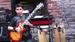 12-year-old Andreas Varady, jazz guitarist