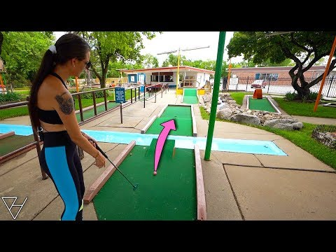 Elisha's Hole In One Luck Is Crazy At This Course!
