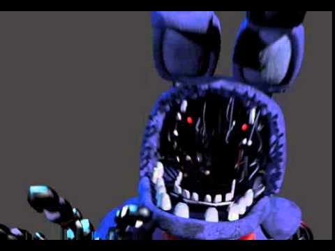Withered bonnie jumpscare - YouTube