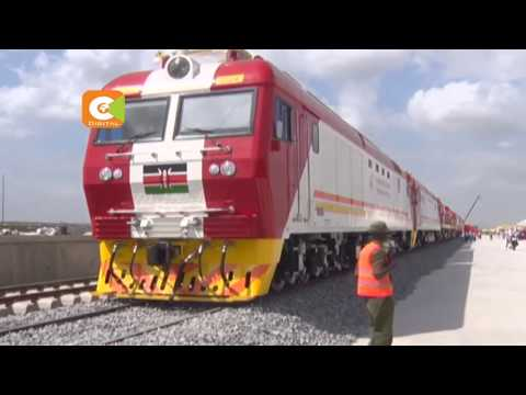 SGR locomotives handed to government