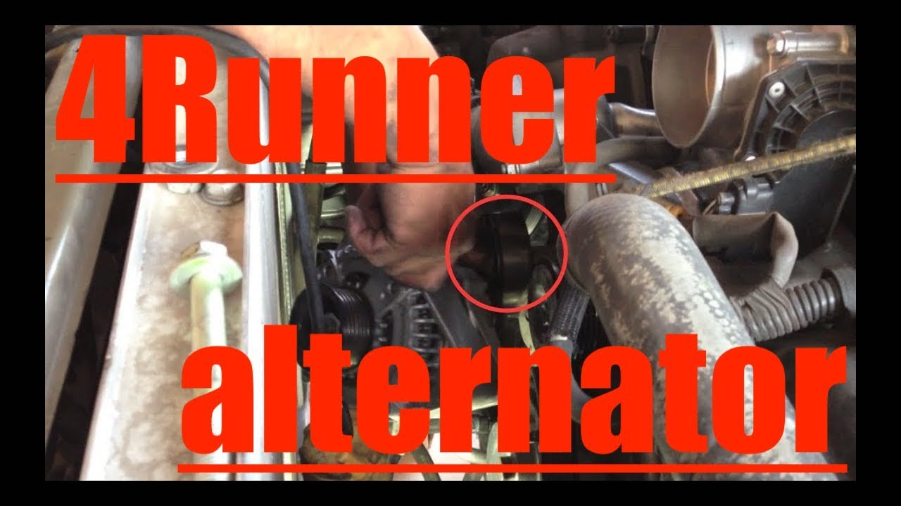maxresdefault alternator replacement test toyota 4runner v8 √ fix it angel