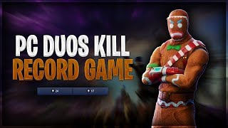 FORTNITE PC DUOS WORLD RECORD GAME (41 KILLS) @OpTicGaming (Fortnite Battle Royale Gameplay)