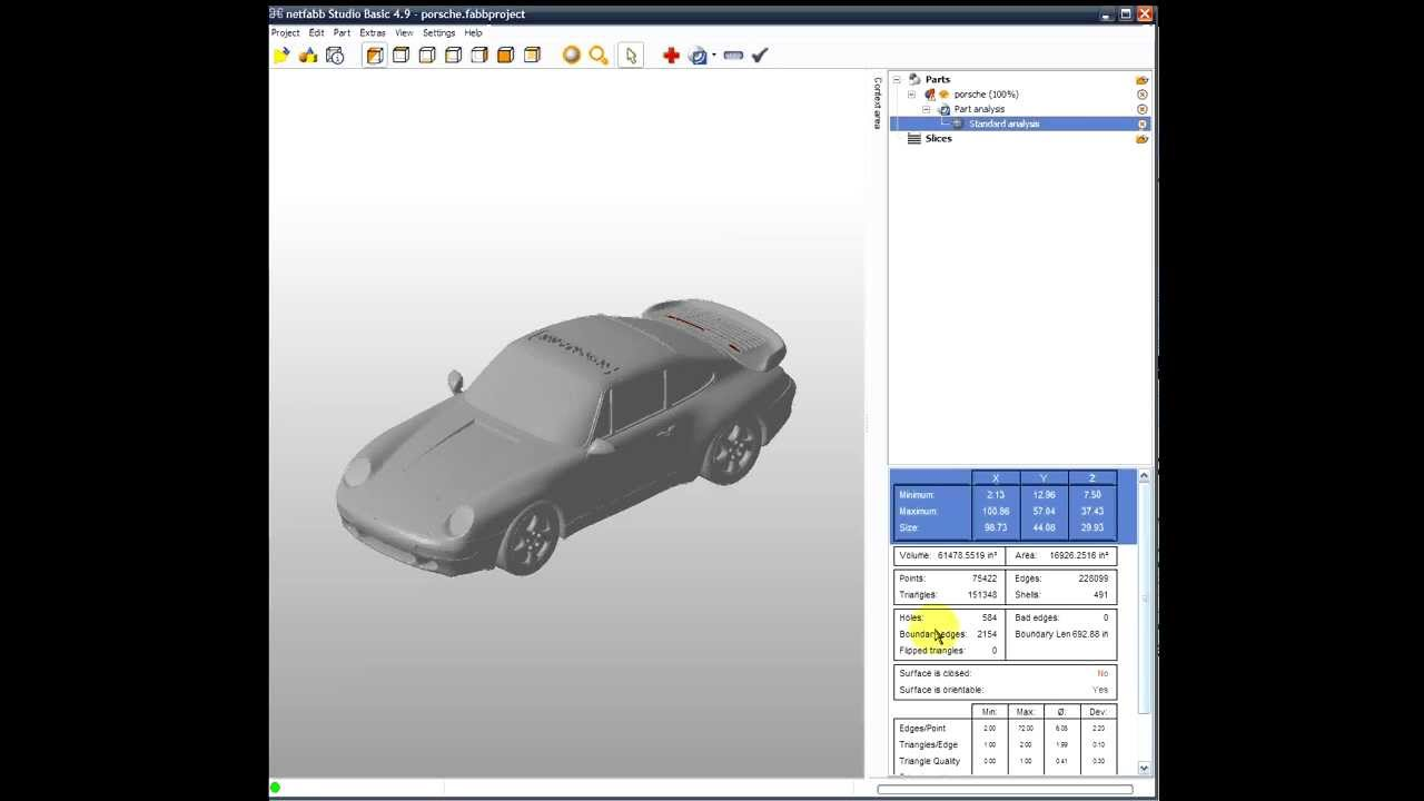 Automatically Repair STL Files in 2 Minutes with netfabb