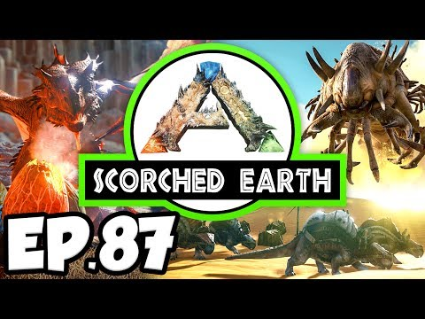 ARK: Scorched Earth Ep.87 - WYVERN DINOSAURS GROWTH, GREENHOUSE EXPAND!! (Modded Dinosaurs Gameplay)